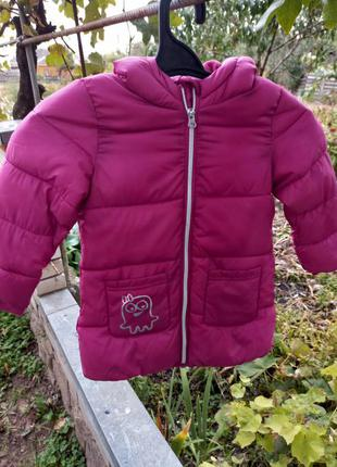 Красивая куртка на девочку