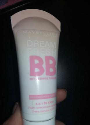 Тональный крем maybelline dream fresh bb cream 8 in 1