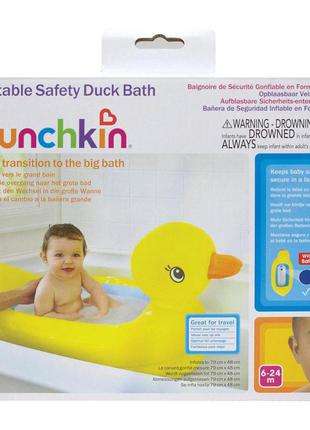 Надувний басейн ванночка качечка від 6 місяців