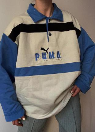 Лонгслив винтаж puma
