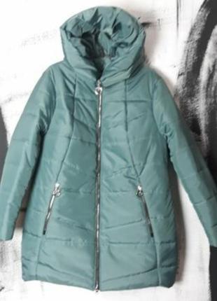 Шикарная дэми куртка,большие размеры,шикарные цвета.