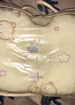 """Ортопедическая подушка """"бабочка"""" для новорожденных"""