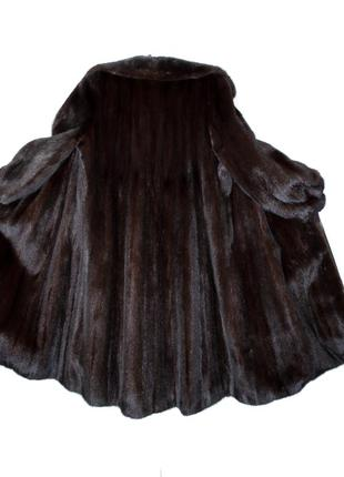Норковая шуба blackglama р.44-46 №056 шуба из норки, норкова