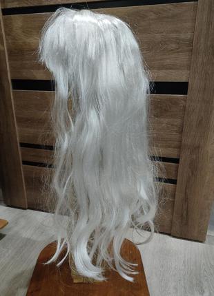 Новый парик 65 см блонд пепельная блондинка