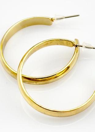 Серьги кольца, сток европа5 фото