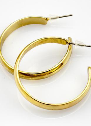 Серьги кольца, сток европа7 фото
