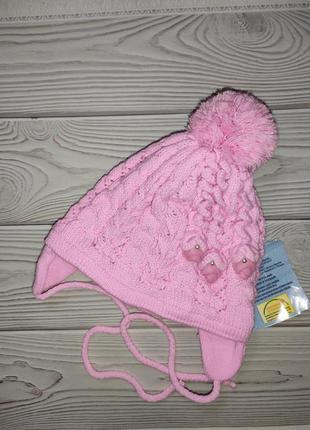 Шапка холодная осень для малышей