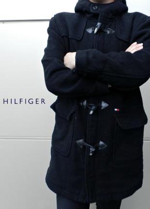 Пальто tommy hilfiger черное