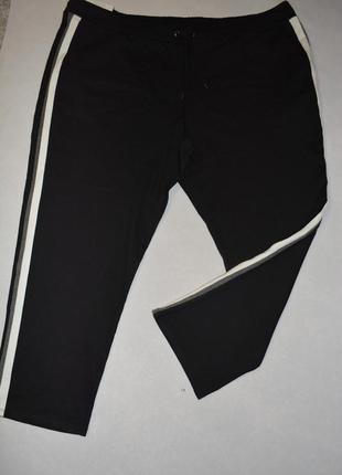 Мега баталы !!! плотные женские черные брюки большого размера 64-66 esmara германия