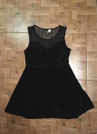 Красивое платье , платьице чёрное . нарядное