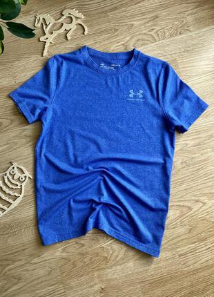 Фірмова футболка на хлопчика 10-12 років, under armour
