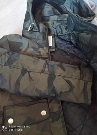 Нова комуфляжна куртка на хлопчика осінь/весна