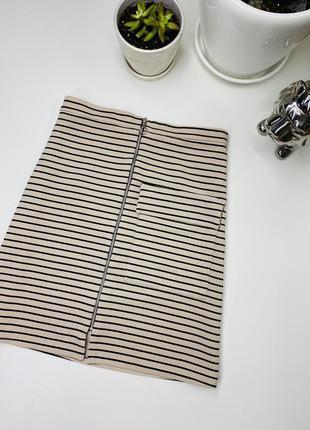 Шикарная юбка с карманами со змейкой atmosphere zara