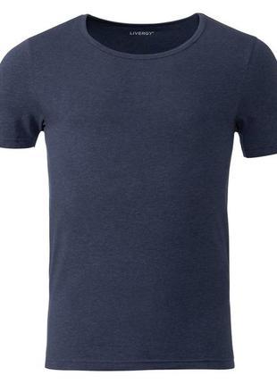 Хлопковая нательная / базовая / бельевая футболка livergy германия