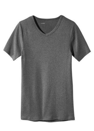 Базовая / бельевая / нательная хлопковая футболка livergy германия