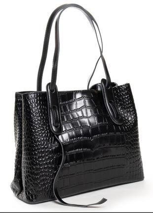 Жіноча шкіряна бізнес-сумка alex rai
