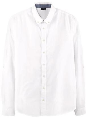 Рубашка мужская белая большого размера 60-62 livergy германия