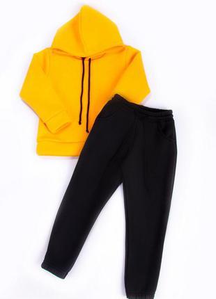 Утеплённый спортивный костюм 110-146