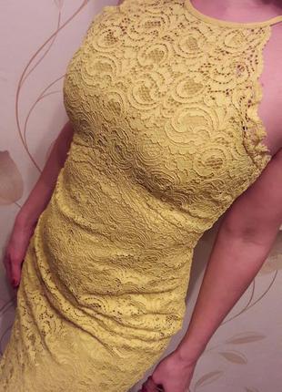 Шикарное вечернее платье zara