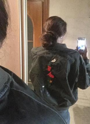 Стильный бомбер куртка,zara,оригинал