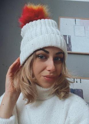 Atmosphere теплая шапка.