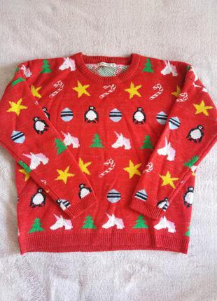 Новорічний светр, кофта, світшот