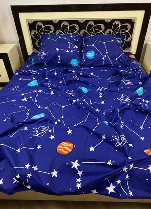 Комплект постельного белья планеты