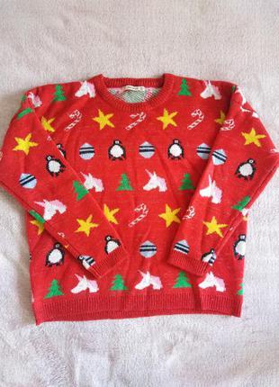 Новорічний светр, крфта