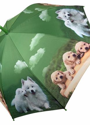 Детский зонтик для девочек и мальчиков, трость с яркими рисунками от фирмы flagman, fl145-2