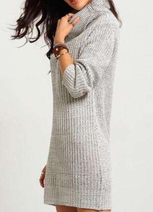 Платье зара вязаное