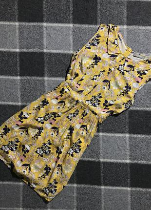 Женское платье (сарафан) в цветочный принт oasis ( оазис мрр идеал оригинал разноцветное)