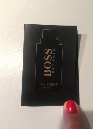 Пробник boss the scent intense