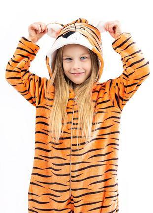 Кігурумі ціна від 429 грн. дитячий та підлітковий тигр, помаранчевий