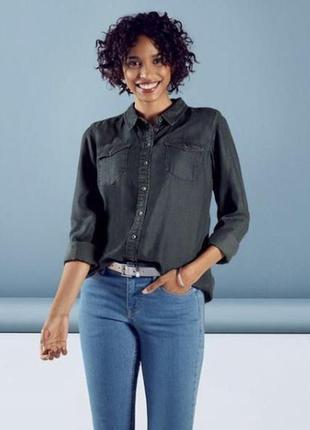 Джинсовая рубашка esmara германия / рубашка под джинс