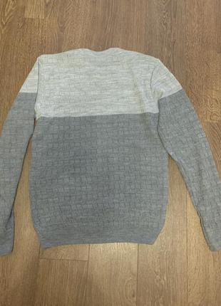 Джемпер чоловічий, джемпер мужской классический, свитер тонкий нарядный мужской