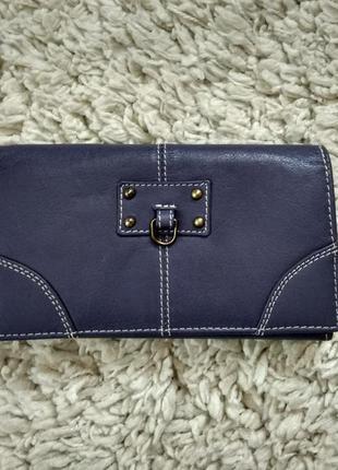 Натур.кожаный кошелек,портмоне бренд golunski