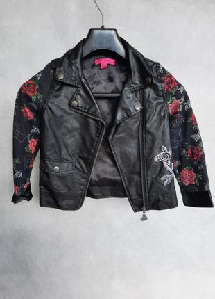 Betsey johnson косуха, куртка, парка, жилетка