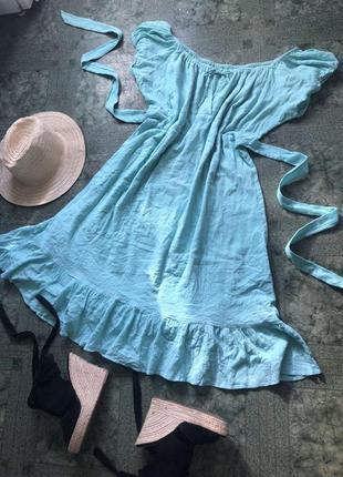 Платье  сарафан трендовое 100% коттон женское