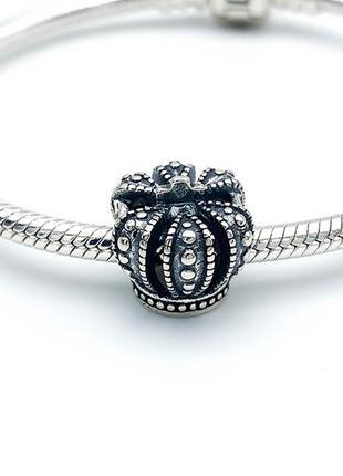 Pandora корона намистина срібна