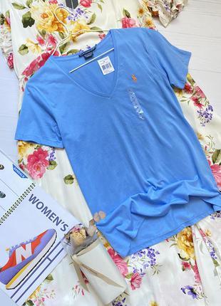 Новая футболка с органического хлопка polo ralph lauren