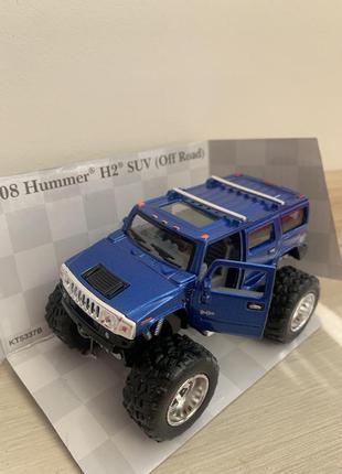 Металева машина kinsmart 2005 hummer h2 sut