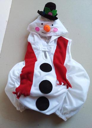 Фирменный костюм снеговика