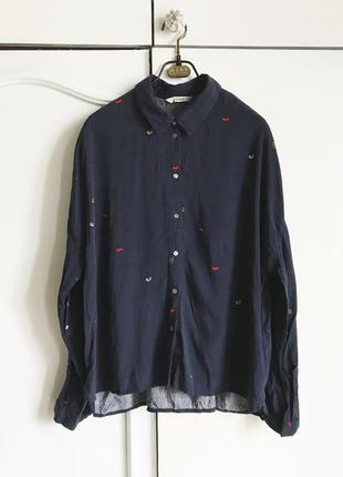 Рубашка в принт only размер м