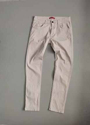 Мужские бежевые штаны zara man
