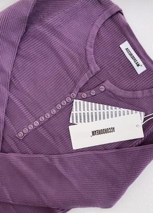 Базовая кофта лонгслив реглан водолазка гольф пуговка пуговица гудзик свитер светер
