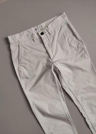 Мужские белые штаны zara man