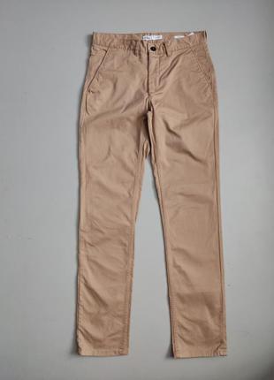 Zara мужские коричневые штаны