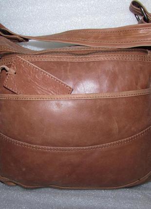 Классная большая сумка хобо 100% натуральная кожа ~ oasis~