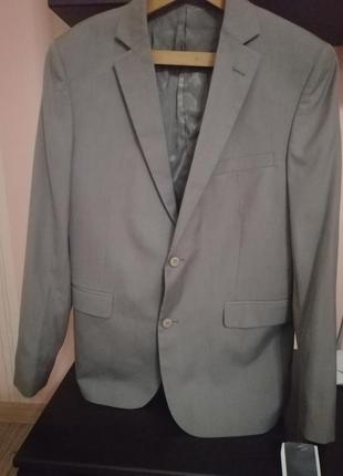 Пиджак серый brice