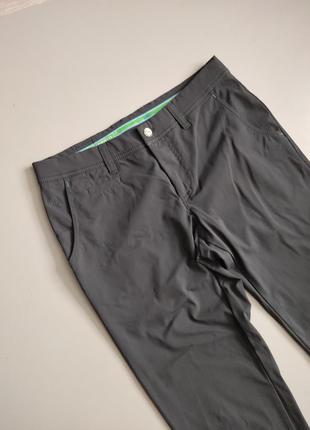 Серые мужские стойкие к износу штаны alberto